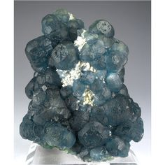 Fluorite, Quartz from Huanggang Mine, Inner Mongolia, China   Globe Minerals