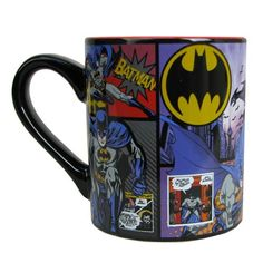 Batman Comic Panel 14 oz. Ceramic Mug