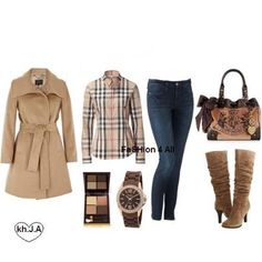 Burberry and more stye!