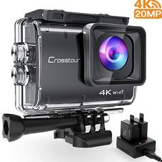 Neewer G0 Hd 4k Action Camera 12mp Foto & Camcorder 98 Ft Underwater Waterproof Camera Xmas Gift