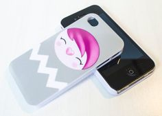 DATCHI Grey  Hard Art Case for iPhone 4/4S and by TomoIsland, £10.00