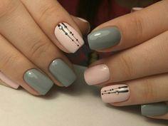 Нравится минимализм на ногтях? Модный маникюр минимализм 2018-2019 - фото. Стильный минимализм дизайн с полосками, омбре, минимализм ногтей однотонный, с рисунком.