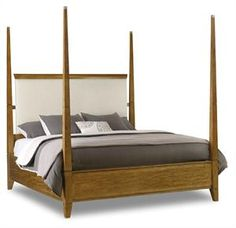 GroB Retropolitan King Poster Bed 5510 90666 MWD By Hooker Furniture @ Hooker  Factory Outlet