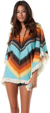 LOve! BILLABONG SHOW DOWN LOW DOWN PONCHO Image