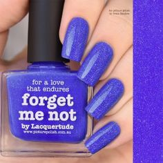 Nail Polish Forget Me Not