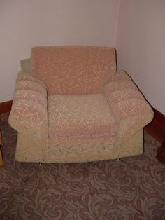 Vintage 1950's Sofa and chair  $202