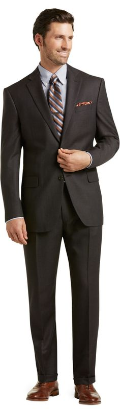 Signature Collection Traditional Fit Suit Big and Tall CLEARANCE
