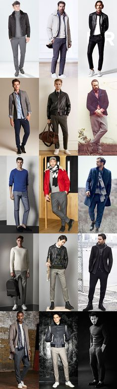 Men's AW14 Fashion Trend: Dressed-Down Trousers