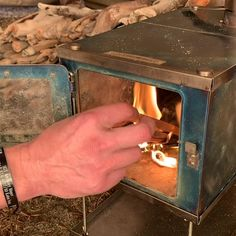 tent wood stove titanium for backpacking thinking about living off the grid not a bad idea considering the chaos exploding world wide are you prepared there are perfect guides for off grid living which covers just about every situation you may encounter Bushcraft Camping, Camping Survival, Tent Camping, Camping Gear, Backpacking, Winter Survival, Tent Stove, Underground Bunker, Camper Hacks