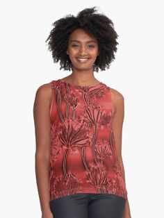 25% off ALL apparel. That's right. All. Of. It. Use STUFFTOWEAR Abstract saturated red flowers, dark scarlet floral pattern •  Also Available as T-Shirts & #Hoodies, Men's #Apparels, Women's Apparels, #Stickers, #iPhone #Cases, #Samsung #Galaxy Cases, #Posters, #Home Decors, #Tote #Bags, #Pouches, #Art #Prints, #Cards, Mini #Skirts, #Scarves, #iPad Cases, #Laptop #Skins, Drawstring Bags, Laptop #Sleeves, #tapestries and #Stationeries