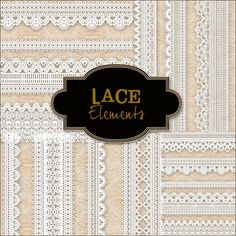 Free lace edges