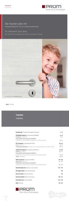 Prüm - CPL-Türen Vielfalt - Sie suchen pfelegeleichte und strapazierfähige Zimmertüren? Trotzdem Qualitativ hochwertig verarbeitet und mit einem fairen Preis-Leistungs Verhältnis? Dann sind Sie bei den CPL Türen der Firma Prüm genau richtig - eine breite Designauswahl und absolut authentische Oberflächen sprechen für sich.