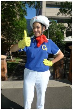 Day 316: Speed Racer costume. Theme Me is a blog that follows a personal challenge to dress to a different theme every day for a whole year.