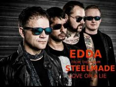 "STEELMADE ""EDDA"" Rock Bands, Mens Sunglasses, Album, Steel, Man Sunglasses, Men's Sunglasses, Iron"