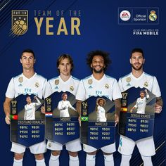 Team Of The Year Fifa