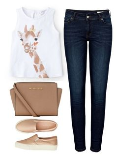 """""""comfort"""" by ecem1 ❤ liked on Polyvore featuring MANGO, Anine Bing, MICHAEL Michael Kors and American Eagle Outfitters"""