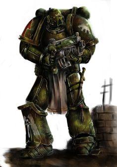 Warhammer 40000,warhammer40000, warhammer40k, warhammer 40k, ваха, сорокотысячник,фэндомы,Imperium,Империум,Dark Angels,Space Marine,Adeptus Astartes