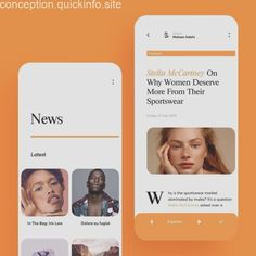 News App Design Concept You are in the right place about ios App Design Here we offer you the most beautiful pictures about the App Design form you are Design Android, Ios App Design, Responsive Web Design, User Interface Design, Design Ui, Clean Web Design, News Web Design, Design Food, Design Thinking