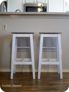 Home, Thrifty Home: Customized IKEA Barstools