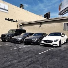 Mercedes-Benz S 63 AMG coupé & G 63 AMG (Instagram @RDBLA)