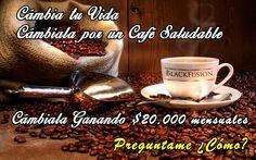 Promo de BlackFusion y de Café Saludable, subido para compartir, Informes en www.blackfusion.com.mx