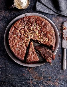 Nutella Cake Recipe with Baileys Cream Recipe This indulgent sunken Nutella cake with Baileys cream is sure to be a crowd-pleaser, plus, it's easy to make