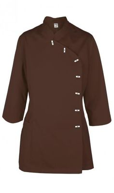 Chaqueta Shanghay chocolat XL Spa Uniform, Restaurant Uniforms, American Spirit, Chef Jackets, Coat, Womens Fashion, Sweaters, Mens Tops, Scrubs