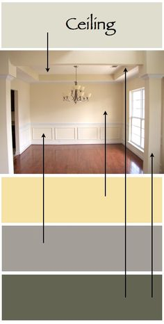 1000 images about dining room color on pinterest dining rooms dining room colors and red - Choose color scheme every room ...