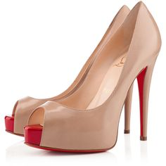 Christian Louboutin Vendome ($845) ❤ liked on Polyvore