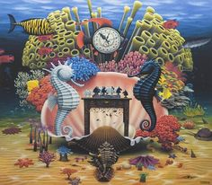 -d - Paintings by Jacek Yerka  <3 <3