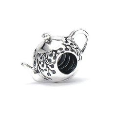 Bella Fascini MY LITTLE TEAPOT  925 Sterling by BellaFasciniBeads