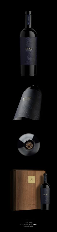 Alae Malbec 2013 Wine Packaging, Packaging Design, Wine Bottle Labels, Wine Bottles, Wine Label Design, Wine Art, Wine And Beer, Sparkling Wine, Whisky