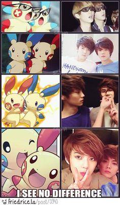 HunHan Pokemon couple !!