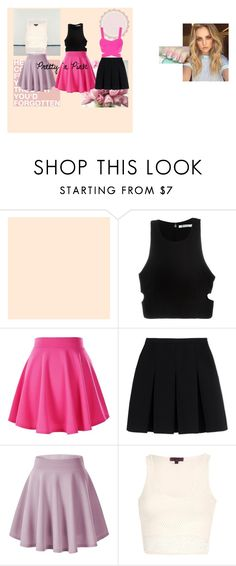 """Pretty 'n Pink"" by linavasileiadou on Polyvore featuring T By Alexander Wang and Alexander Wang"