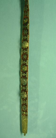 Blog about belts in the Middle Ages No specific info about this belt, but plenty of links for further research.