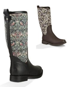 Bottes Ugg Reignfall liberty Liberty Fashion, Ugg Australia, Rubber Rain Boots, Uggs, Shoes, Rain Boots, Zapatos, Shoes Outlet, Shoe