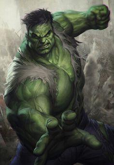 The Hulk -- Artgerm