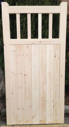 Details about Old Lodge Wooden Cottage style Timber Side Garden Gate - Modern