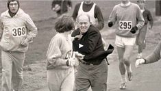 Clip from first woman to ever run the Boston Marathon.  We've come a long way!