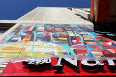 Nando's Accidental Art Instawalk Picnic Blanket, Outdoor Blanket, Cape Town, Yellow, Pretty, Stuff To Buy, Design, Home Decor, Art