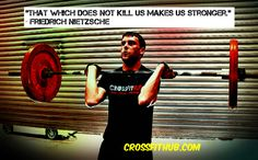"""""""That which does not kill us make us stronger"""""""