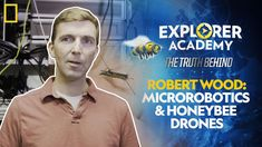 The robots of the future are tiny, capable, and… bugs? Explorer Robert Wood draws inspiration from nature to create robotic insects. Learn more about the science behind #ExplorerAcademy