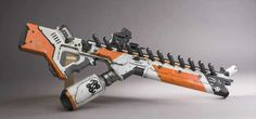 View Best alien weapons in district 9 images Sci Fi Weapons, Weapon Concept Art, Sci Fi Spaceships, Future Weapons, Futuristic Art, Assault Rifle, Firearms, Nerf, Guns