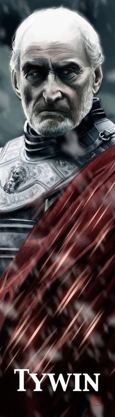 Tywin Lannister Bookmark by ~FloorSteinz on deviantART