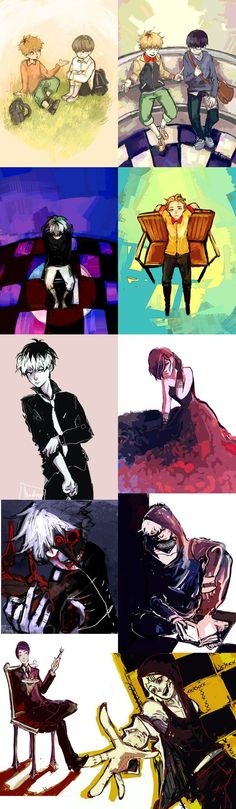 tokyo ghoul collection part 2 by Mastry01 on DeviantArt