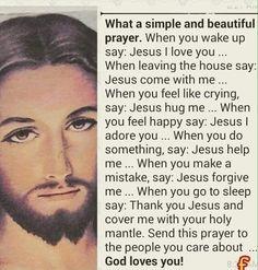 Jesus I trust in you Jesus Prayer, Say A Prayer, Prayer Verses, Faith Prayer, Bible Verses Quotes, Jesus Quotes, Faith Quotes, Holy Quotes, Life Quotes