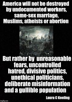 Truth be told. Any of these vices can and will often lead to deliberate misinformation. Isn't it because a hatred for the Truth is where it starts? Conversely, only a simple love of the Truth and faithfulness to Him is the solution. Bernie Sanders, Religion, Thats The Way, I Cant Even, Way Of Life, Real Life, Social Issues, Thought Provoking, American