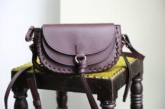 Danielle Sakry - Burgundy Handbag