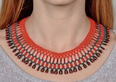 Free pattern for necklace Brazil