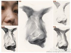 Anatomy Sketches, Anatomy Drawing, Anatomy Art, Art Drawings Sketches, Portrait Drawing Tips, Portrait Art, Nose Drawing, Art Courses, Learn Art